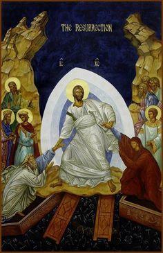 Modern Catholic Artists Celebrate the Resurrection Religious Icons, Religious Art, Greek Icons, Church Icon, Christ Is Risen, Byzantine Icons, Albrecht Durer, Catholic Art, Angel Art
