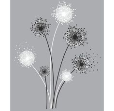 Found it at Wayfair - Deco Graphic Dandelion Giant Wall Decal Wall Stickers, Wall Decals, Wall Art, Diy Wall, Borders Books, Wallpaper Manufacturers, Wall Appliques, Wallpaper Warehouse, Stencil Painting