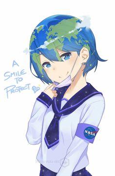 Earth-chan :3