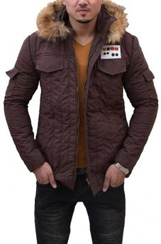 Make a name like Harrison Ford while wearing Han Solo Parka Hoodie and inspire your friends to open a challenge towards peers and chick fashion. Han Solo Hoth, Star Wars Han Solo, Paris Movie, Star Wars Shop, Harrison Ford, Disneyland Paris, New Movies, Movie Stars, Parka