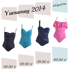 Costumi interi per l'estate 2014 by Yamamay