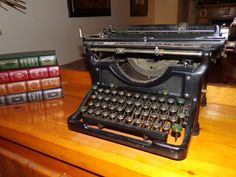 The Story – Musings From My Museum Underwood Typewriter, Central Library, Study Areas, The Headlines, Family Outing, I Hate You, Wait For Me, Prince Charming, Clutter