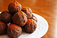El Diablo Chocolate Truffles - for Brian? - VERY spicy and rich...Lew approved