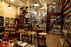 Housing Works Bookstore in Soho, New York City: This used bookstore and coffee shop is run by volunteers in support of HIV research.