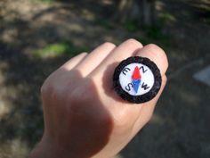 Felt Ring -  Cute Compass