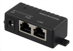 Show details for PoE Gigabit injector for PoE/PoE+, 48V/1A