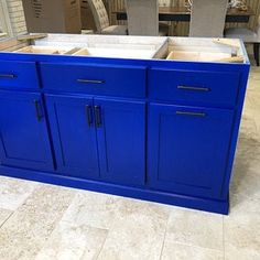 Item 112 Kitchen Island with seating Table Island Custom Kitchen Island Table, Kitchen Island With Seating, Island Bar, Kitchen Cabinets, Open Shelving, Adjustable Shelving, Roll Out Shelves, Spice Rack Organiser, Rev A Shelf