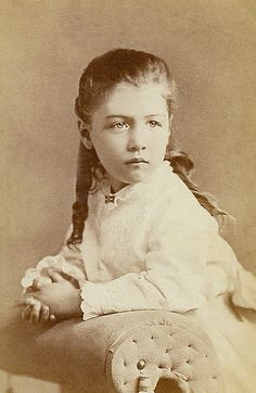 +~+~ Antique Photograph ~+~+  Pig-tails and melancholy