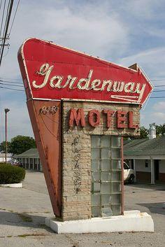 Gardenway Motel, Route 66 - Pacific, Missouri