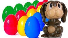 Kinder Surprise Eggs with DOGS Kinder Überraschungseier mit Hunden Кинде...