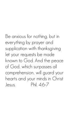Philippians 4:6-7 Scripture memory wallpaper for iPhones. More verses available on DuctTapeAndDenim.com