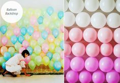 5 DIY Backdrops For Your Photo Booth, Ceremony and Reception!