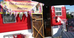 The Beehive Cottage: Ivy St. Market & Trailer