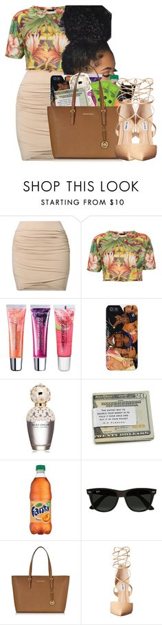 """Sorry, I'm Unavailable Right Now"" by daddyslittlevixen ❤ liked on Polyvore featuring by TI MO, Escapology, Maybelline, Marc Jacobs, Ray-Ban, Michael Kors and Steve Madden"
