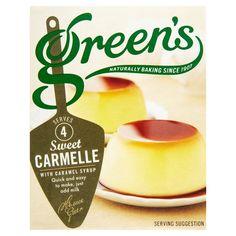 Morrisons: Greens Carmelle 70g(Product Information)