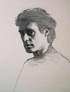 Rupert Alexander ~ Cesare (charcoal on paper)