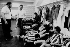 At the Locker Room with Clemente