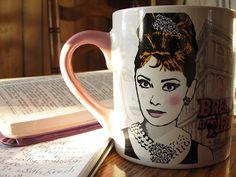 Audrey Hepburn mug!!!