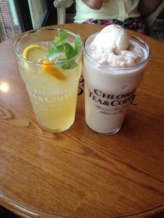 Ice lemongrass & Peach cream