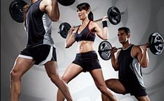 Workout bodypump group fitness