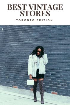 The Best Vintage Clothing Stores in Toronto - The Top Consignment Stores in Toronto - The Best Thrift Shops in Toronto - Simply Shantel - Shantel Rousseau Vintage Clothing Stores, Vintage Shops, Fall Winter Outfits, Winter Fashion, Where To Buy Clothes, Fashion Outfits, Womens Fashion, Thrifting, Toronto