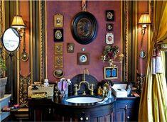 Paris apartment bathroom
