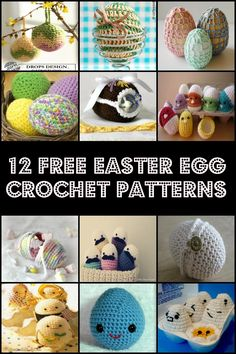 keepingbusy: 12 Free Easter Egg Crochet Patterns