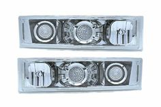 Chevrolet Astro 1995 1996 1997 1998 1999 2000 2001 2002 2003 2004 2005 Park Signals Front/Crystal Diamond-Cut/1 pair Chevrolet Astro 1995-2005 Park Signals Front/Crystal Diamond-Cut. In Pro Car Wear's specialty is automotive lighting. Their product line includes a large number of exclusive headlights for cars and trucks..  #IPCW #Automotive_Parts_and_Accessories