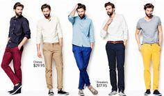 ropa para hombres jovenes - Buscar con Google