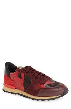 Valentino Camo Sneaker (Men)