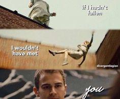 Tris and Four -Divergent Series Divergent Memes, Divergent Hunger Games, Divergent Fandom, Divergent Trilogy, Divergent Insurgent Allegiant, Divergent 2014, Tfios, Tris Y Tobias, Teatro Musical