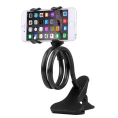 Bras flexible pour smartphone 18 € Handy Smartphone, Smartphone Holder, Car Phone Mount, Car Mount, Lazy, Tablet Mount, Support Telephone, Samsung, Phone Stand