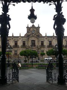 Palacio de Gobierno en Guadalajara, Jalisco.