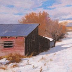 "DON GRAY - Ranch Sheds""  (This picture will be included in the traveling museum exhibit, ""A Feeling of Humanity,"" 2014-17.)  Collection of Ken Ratner.  Loaned in loving memory of his brother, Robert Ratner."