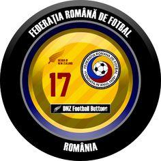 DNZ Football Buttons: Seleção da Romênia
