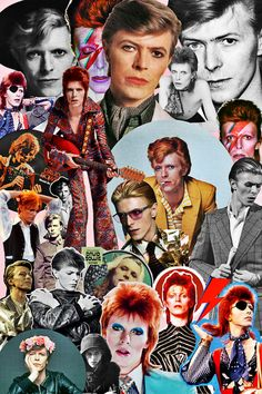 Loves all things spooky + music enthusiast Iman And David Bowie, Queen David Bowie, David Bowie Starman, David Bowie Tribute, David Bowie Art, Moonage Daydream, Music Icon, Music Music, Classic Horror Movies