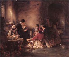 """""""Το κρυφό σχολειό"""", The """"Secret School"""" during the Ottoman Occupation - Γύζης."""