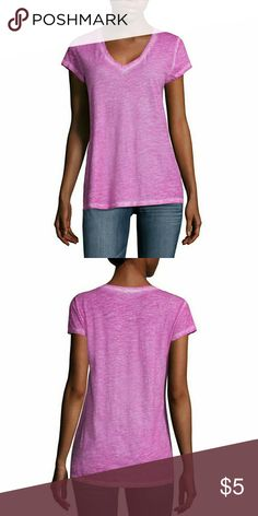 a.n.a Short Sleeve V Neck T-Shirt-Talls Sleeve Length: Short Sleeve Neckline: V Neck Fabric Description: Knit Fabric Content: 58% Cotton, 37% Modal, 5% Spandex Country of Origin: Imported a.n.a Tops Tees - Short Sleeve