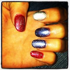 You know what America *really* is: land of the free, home of the ultra-fab nails.