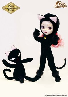 They say cats have 9 lives and that is true for the Moon Pullip Regeneration Series doll. Originally released in 2003, it's taken her approximately 9 years to make it back in front of Pullip fans worldwide. Moon Pullip is on the prowl! #pullip #pullip_moon