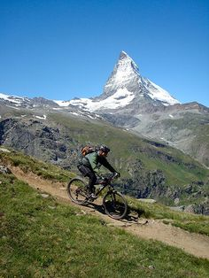 Mountain biking in Switzerland--just read an article about this, sound awesome:)