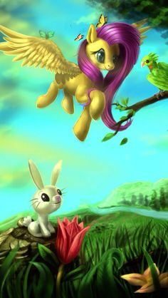 Fluttershy is so cute :3