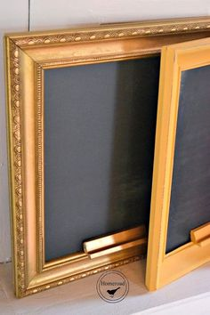 Here's a simple shortcut for chalkboard fans.