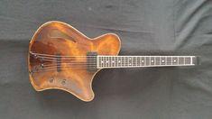 Victor Baker Guitars Special Ergonomic archtop guitar for Dave Mosick Jazz Guitar, Music Guitar, Guitar Chords, Cool Guitar, Acoustic Guitar, Making Musical Instruments, Music Instruments, Archtop Guitar, Bass Guitars