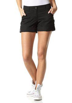 Materialzusammensetzung , Obermaterial: 100% Baumwolle, |Material , Baumwolle, |Materialart , Web, |Materialeigenschaften , Hautfreundlich - weil schadstoffgeprüft, |Optik , unifarben, |Stil , casual, |Leibhöhe , niedrig, |Beinabschluss , gerader Abschluss, |Beinform , gerade, |Beinabschlussdetails , krempelbar, |Passform , normal, |Schnittform Länge , kurz, |Gürtelschlaufen , ja, |Taschen , Ei...