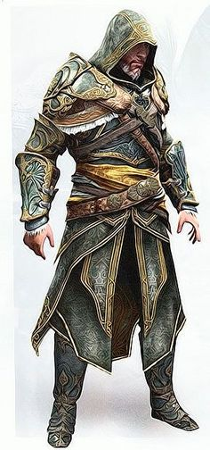 Assassin's Creed Revelations Master Assassin Armor