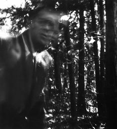 "Ralph Eugene Meatyard :: ""Self Portrait - Movement overlay with Merton at Getshemani, Kentucky,"" 1967 Creepy Photography, A Level Photography, Fine Art Photography, Photography Ideas, Monochrome Photography, Black And White Photography, Black Tapes Podcast, The Uncanny, Night Photos"