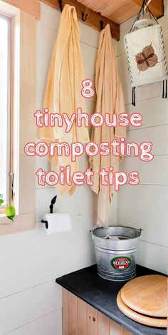 Do you compost or flush in your Tiny House? These tips are great!