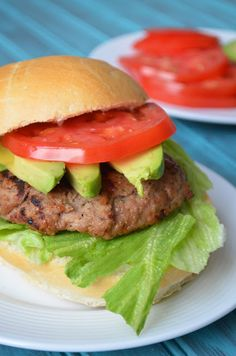 Ranch Turkey Burgers - Heavenly!  Moist and Delicious!  *Go to recipe for us*