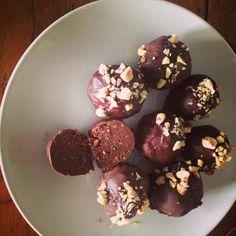 Chocolate truffles_Raw, Vegan